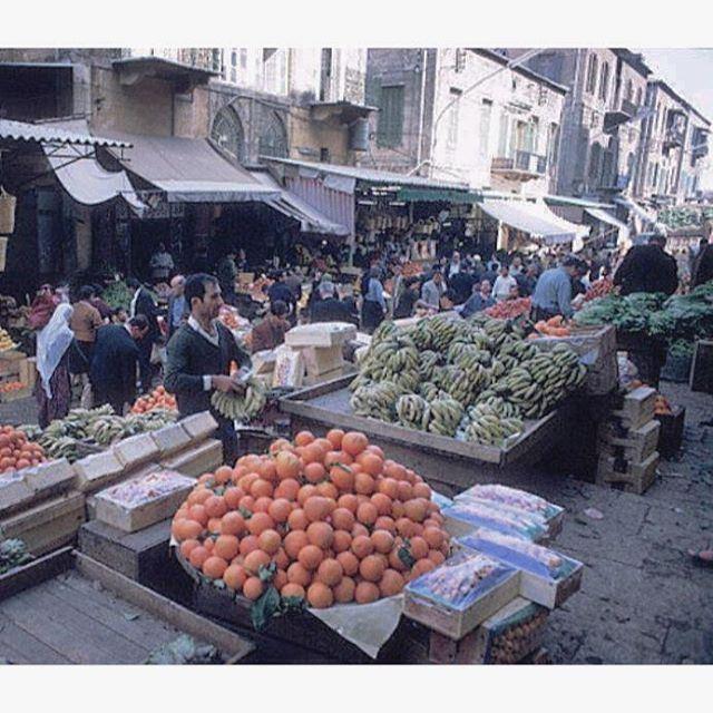 بيروت سوق النورية عام ١٩٦٧ ،
