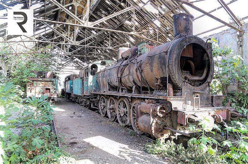 Aged with time...Abandoned Train Station. Tripoli . Lebanon 🇱🇧 ...