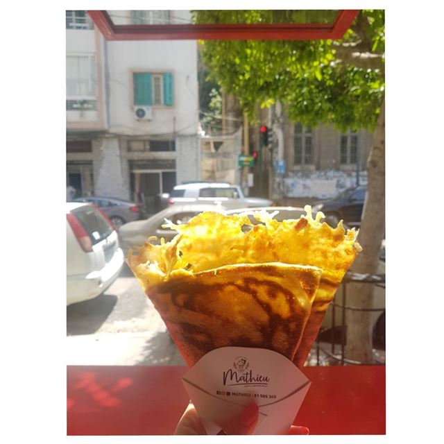 Crispy or metled?!🧀--- TakeMeTo Beirut Lebanon mathieu marmikhael... (Mathieu)