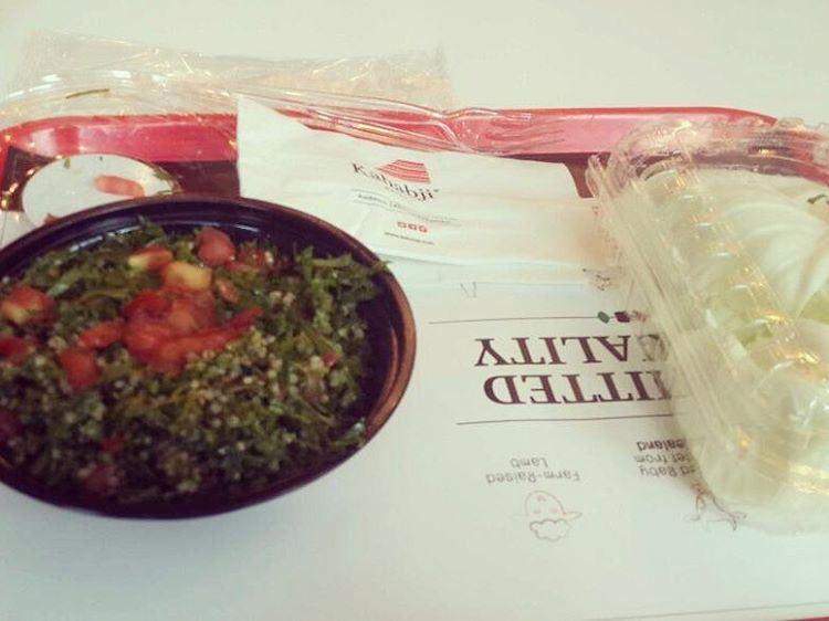 """My patient's healthy meals 😍 """"Quinoa Tabboulé"""" !.. lebanon food ..."""
