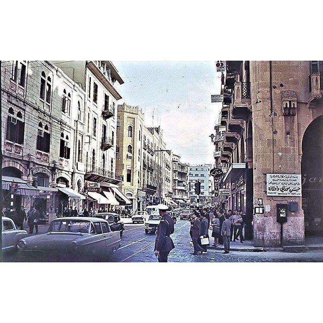 بيروت شارع ويغان عام ١٩٦٤ ،