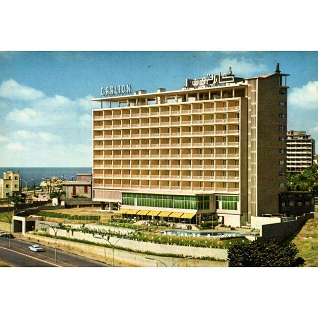 فندق كارلتون بيروت عام ١٩٦٨ ،