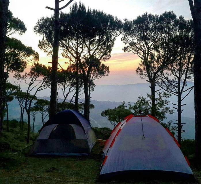 Time  camping ⛺ isn't spent... it's invested 👌 Relax  EnjoyTheView  Camp... (Le Camp)