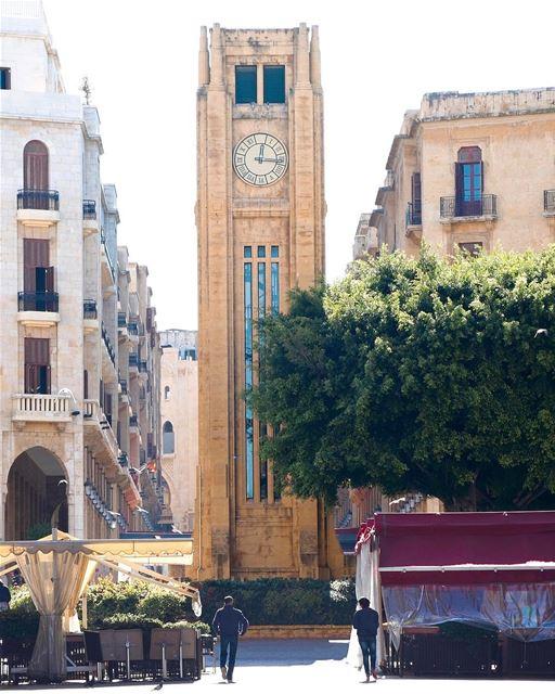 Place d'Etoile é a praça central na área Downtown de Beirute. Um dos... (Place De L'etoile Downtown Beirut)
