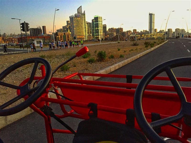 Back on Track 🛣..... livelovebeirut livelovelebanon lebanontraveler ... (Beirut, Lebanon)