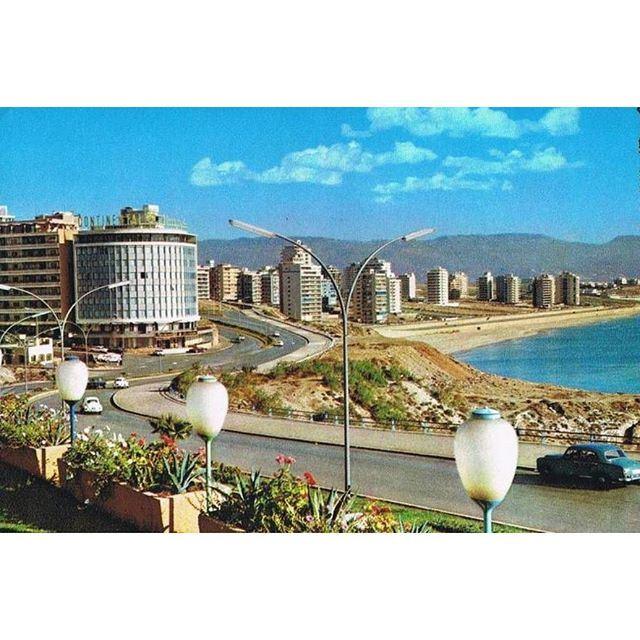 بيروت الرملة البيضاء عام ١٩٦٧ ،