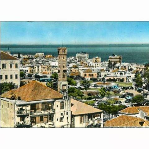 صباح الخير من بيروت عام ١٩٥٥ ،