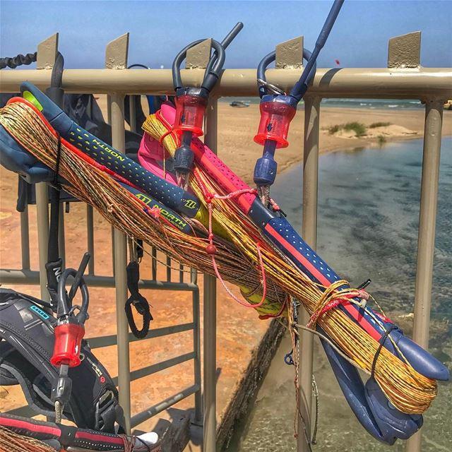 Bars & Lines lebanon beach batroun tripoli northkitesurfing ... (North Marina Beach)