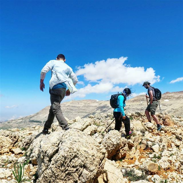 Weekend Goals 🗻 freedom hike trek trail rocks snow wind hikers ...