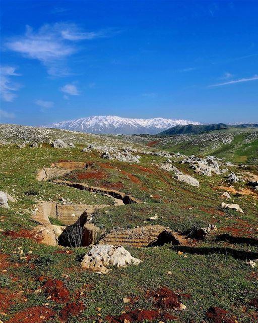 This Means War. So there we were, high up in the hills above Lake Qaraoun,... (Qaraaoun, Béqaa, Lebanon)