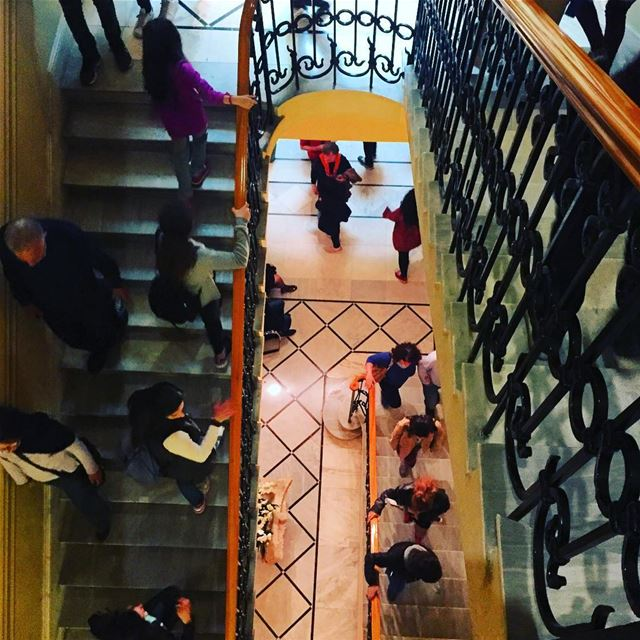 stairs museums villaaudi sursock beirut visitlebanon ... (Villa Audi)