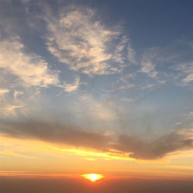 naturephotography lebanon sunset sunsetporn colorful sky horizon ...