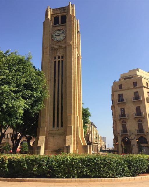 Good Morning Beirut.....🇱🇧 livelovebeirut livelovelebanon ... (Place De L'etoile Downtown Beirut)
