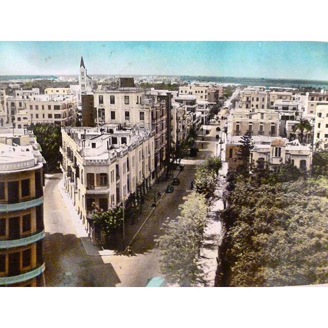 طرابلس عام ١٩٥٥ ،