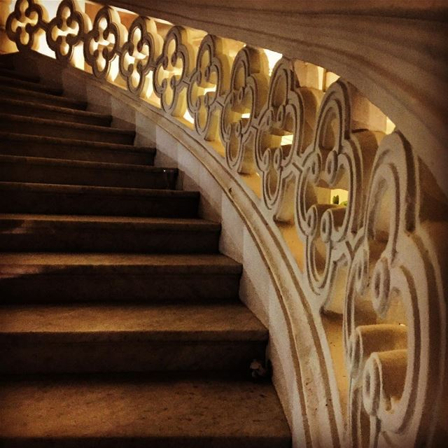 sursock sursockmuseum stairs light architecture beirut museums ... (Sursock Museum)