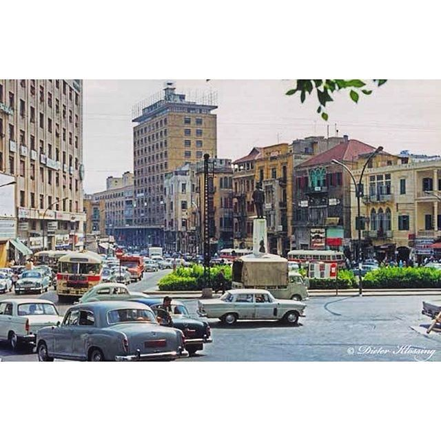 صباح الخير من بيروت رياض الصلح عام ١٩٧٤ ،
