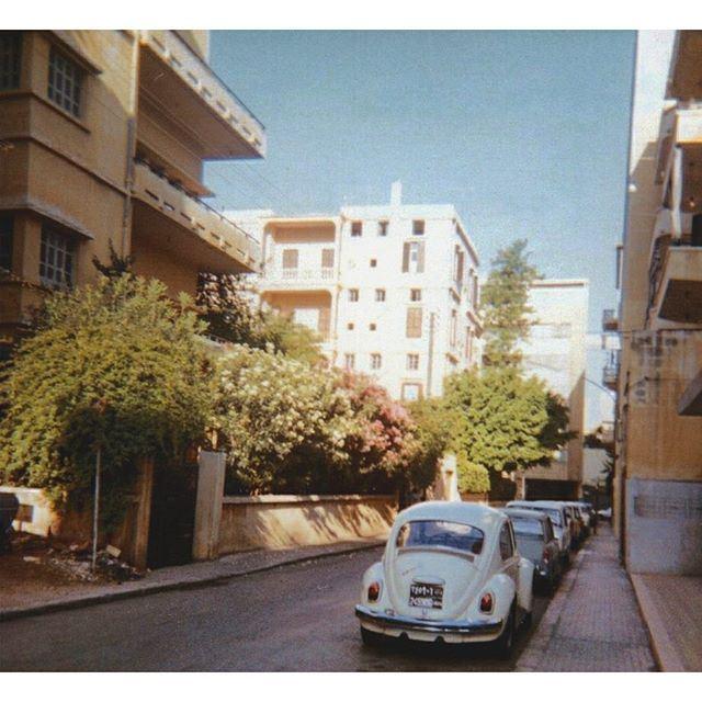 بيروت الحمرا عام ١٩٧١ ،