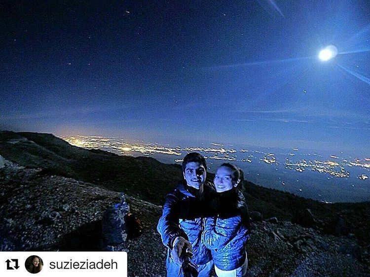 Thank you skyliner @ziadehanthonio for this great selfie from friday's ... (Ein Zhalta - El Chouf)