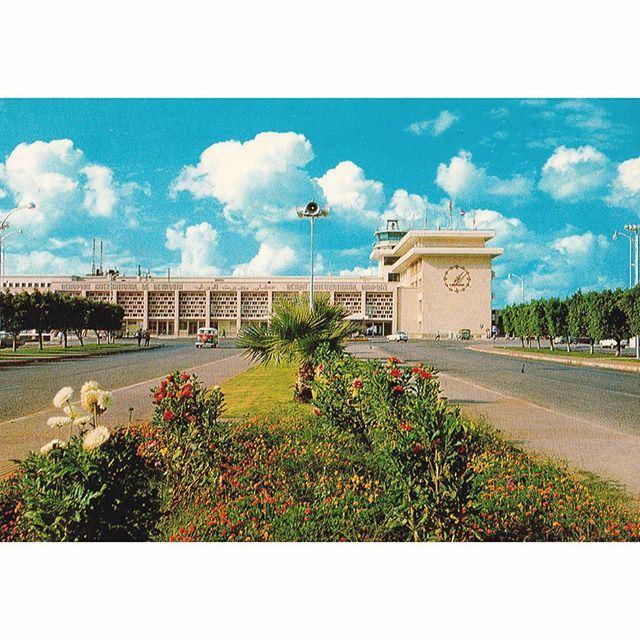 مطار بيروت الدولي عام ١٩٦٧ ،