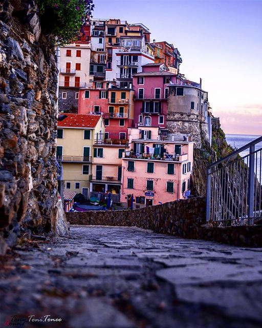 These are streets were poems were written, where stories were born, where... (Manarola)