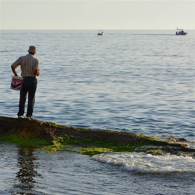 Good morning Fisherman ! loves_lebanon super_lebanon ig_lebanon ... (Batroûn)