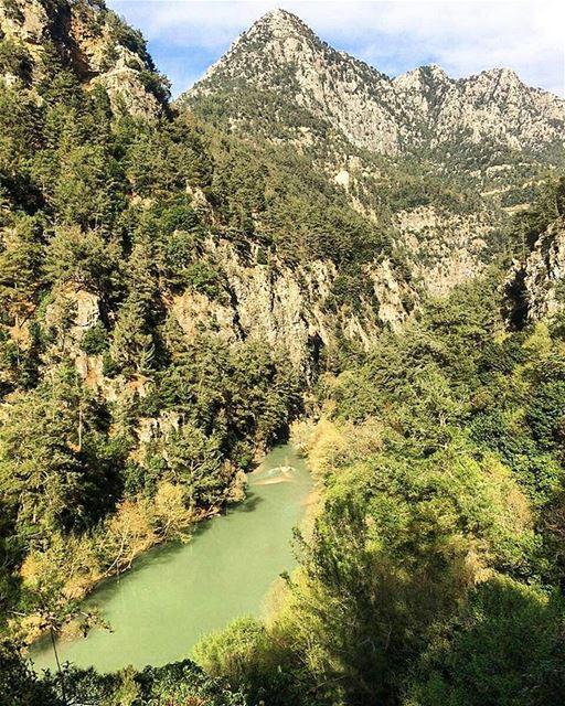يا جبال العليانة ..العليانة حاكيني 💚🗻 لبنان.... lebanon spring ... (نهر شوان)