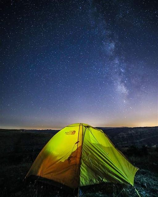 One who lives, sees much. One who camp, sees more. ⛺ 🌌 thenorthface ...