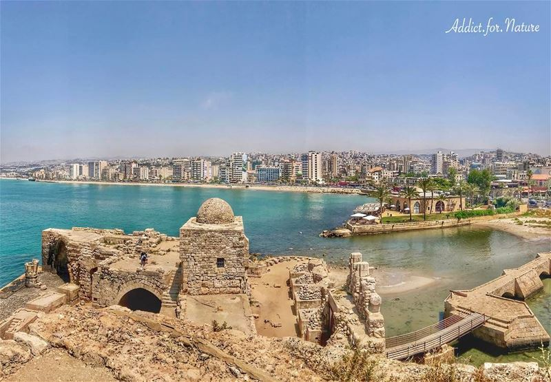 Justice is an unassailable fortress that can not be demolished by the... (Sidon Sea Castle)