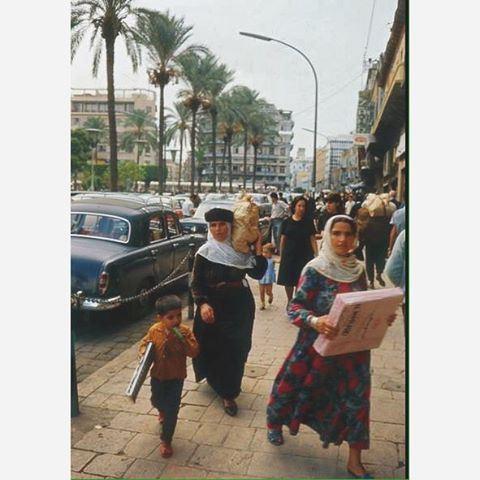 صباح الخير من بيروت ساحة الشهداء عام ١٩٦٦ ،