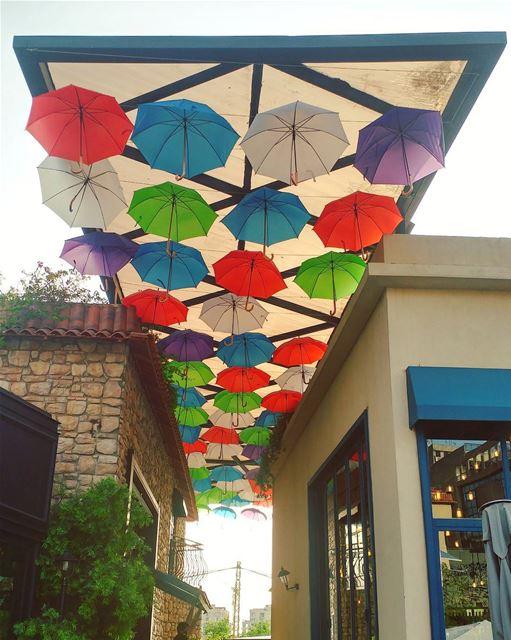 Umbrellas for Summer 🏖️☀️ (The Village Dbayeh)