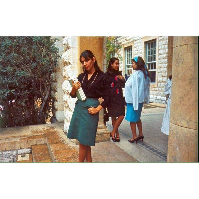 بيروت الجامعة الامريكية عام ١٩٦٦ ،