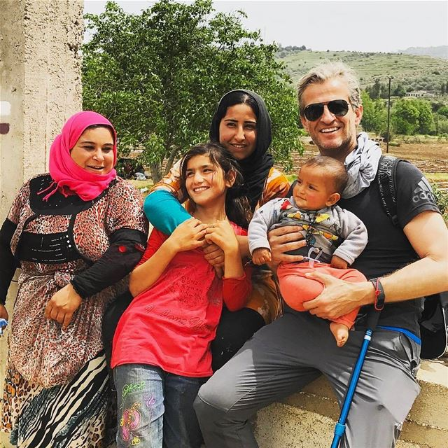 Repost @georgesaj Meet Adnan, a walk in Hasbaya area, last section of... (Hasbaya)
