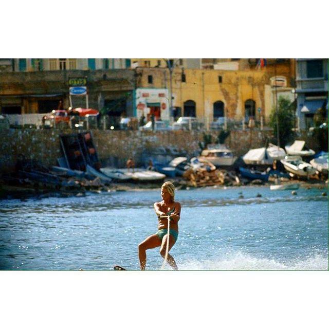 بيروت السان جورج عام ١٩٦٦ ،