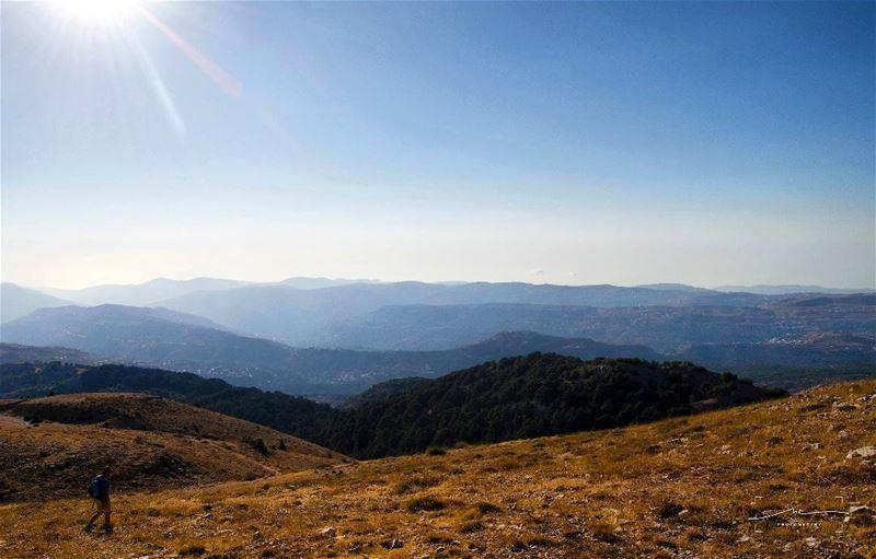Hiking back down🗻🗻 (Arz el Shouf (Barouk))