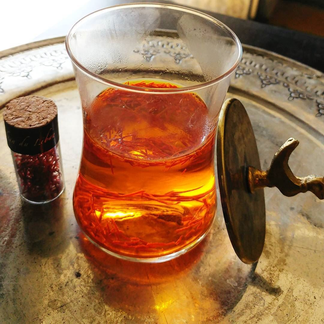 As I was getting ready to soak my precious saffron in water I remembered... (Beqaa Valley)