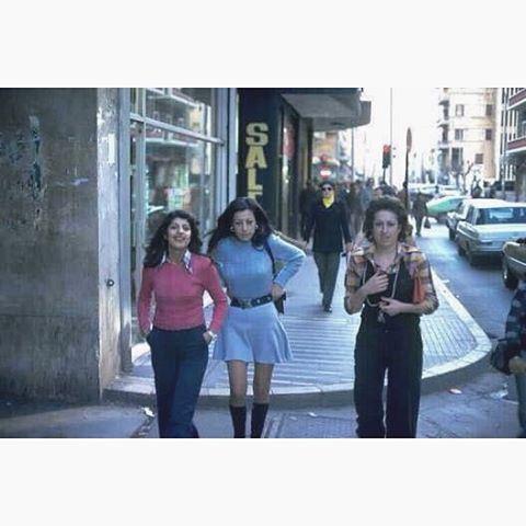 صباح الخير من بيروت شارع الحمرا عام ١٩٧٤ ،