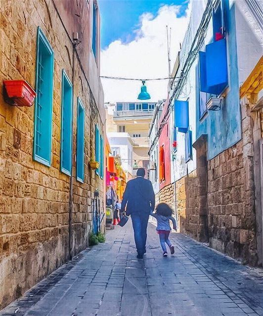 May  hope always color your way, wherever you go & every single day 😊💙🙏� (Tyre, Lebanon)