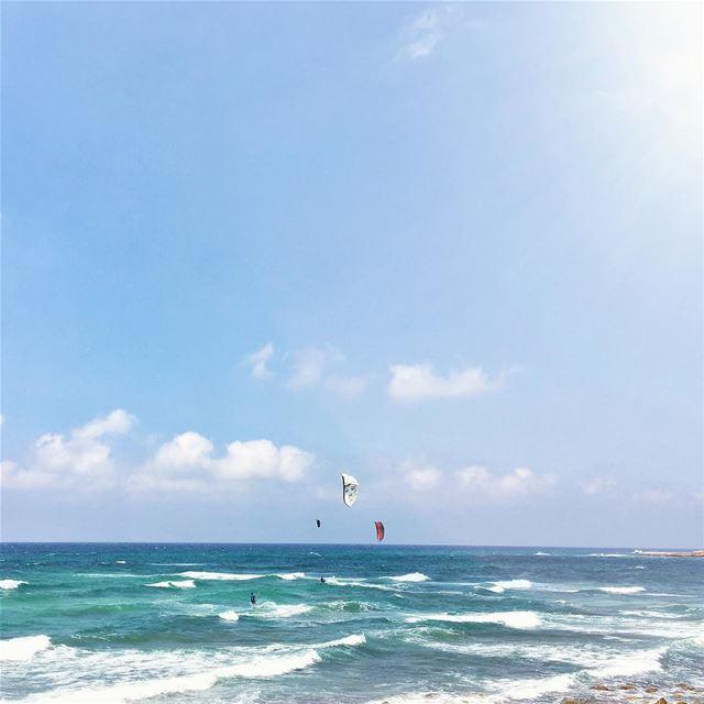 Blue is my favorite Color 💙 (Kfarabida Batroun)