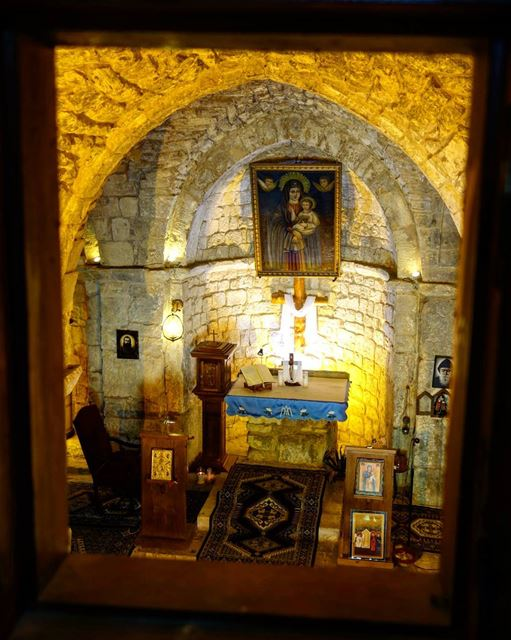 The  icon of Our Lady of Ilige, also known as Our Lady of the  Maronites... (Saydet Elij Mayfouk)