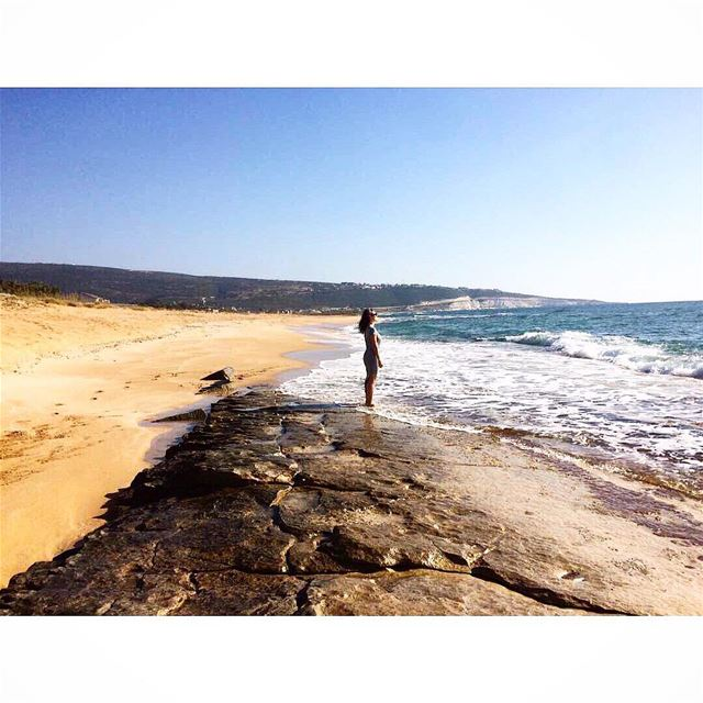 By far the most stunning and unspoiled beach I've ever seen or stepped... (El Mansouri, Al Janub, Lebanon)