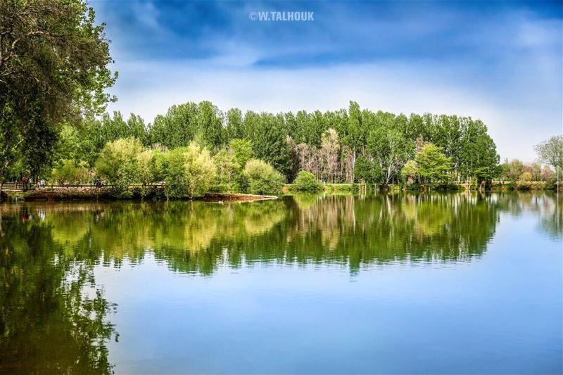 Taanayel lake.. taanayel taanayellake lebanon lebanese lebanonnature ... (Taanayel- Bekaa)