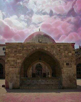 داخل الجامع المنصوري الكبير طرابلس لبنان old mosque tripoli ... (الجامع المنصوري الكبير)