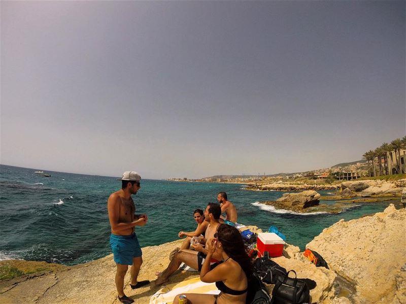 summer vibes 🇱🇧☮️ lebanon lebanon_hdr gopro goprolife goprooftheday... (Kfarabida Batroun)