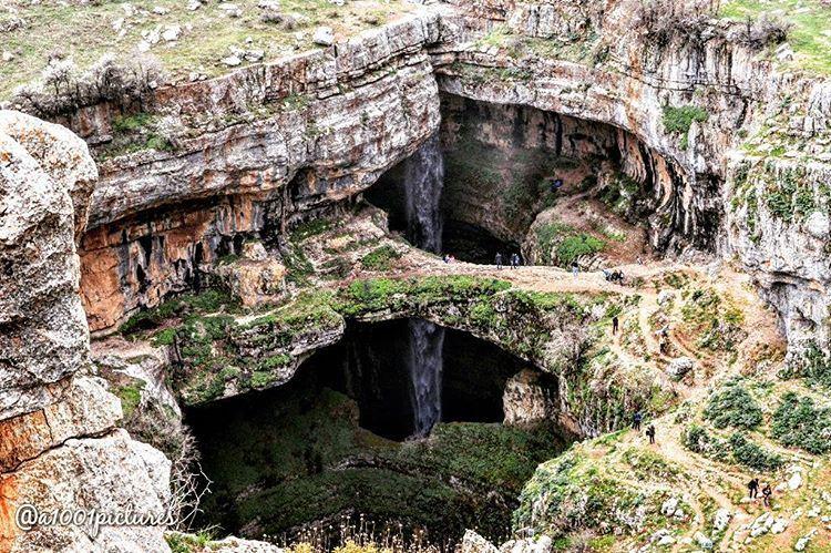 Going down to explore one of nature's extraordinary beauty:Baatara... (Tannourine - Balou' Balaa)