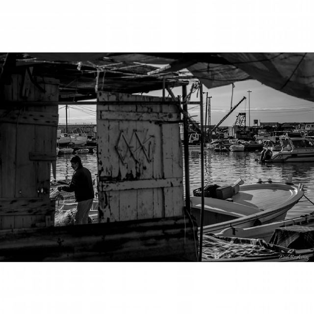 bnw  fisherman  sea  harbor  blackandwhite  boats  fishing  photography ...