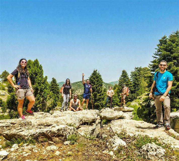 Good morning Lebanon! 🌲🌞 hike trees sports nature outdoors ...