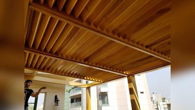 Step by Step! PergolaKitsLebanon. Pergola TeakWood Design ... (Achrafieh, Lebanon)