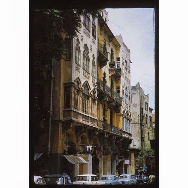 بيروت الجميزة عام ١٩٦٧ ،