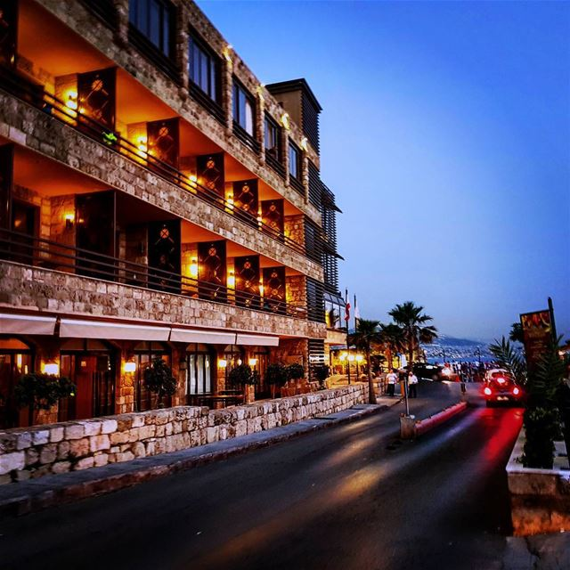 Nightfall in Byblos lebanon jbeil byblos beautiful charming city ... (Byblos - Jbeil)