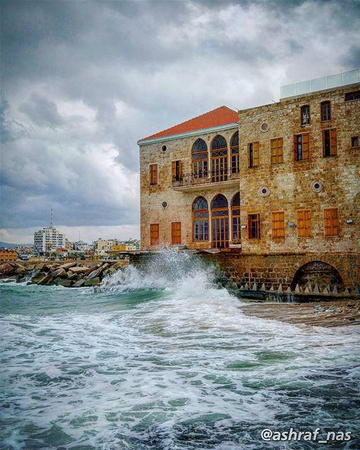 أعطيني وقتاًحتى أدرسَ حالَ الريحِ، وحالَ الموجِوأدرسَ خارطةَ الخلجانْ...... (Tyre, Lebanon)